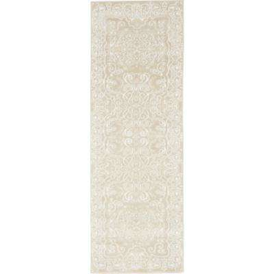 Rushmore Adams Snow White 2' 0 x 6' 0 Runner Rug