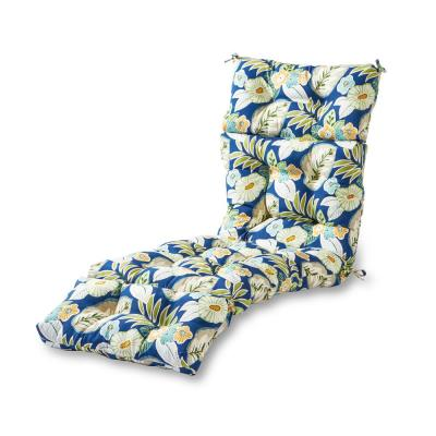 Marlow Floral Outdoor Chaise Lounge Cushion