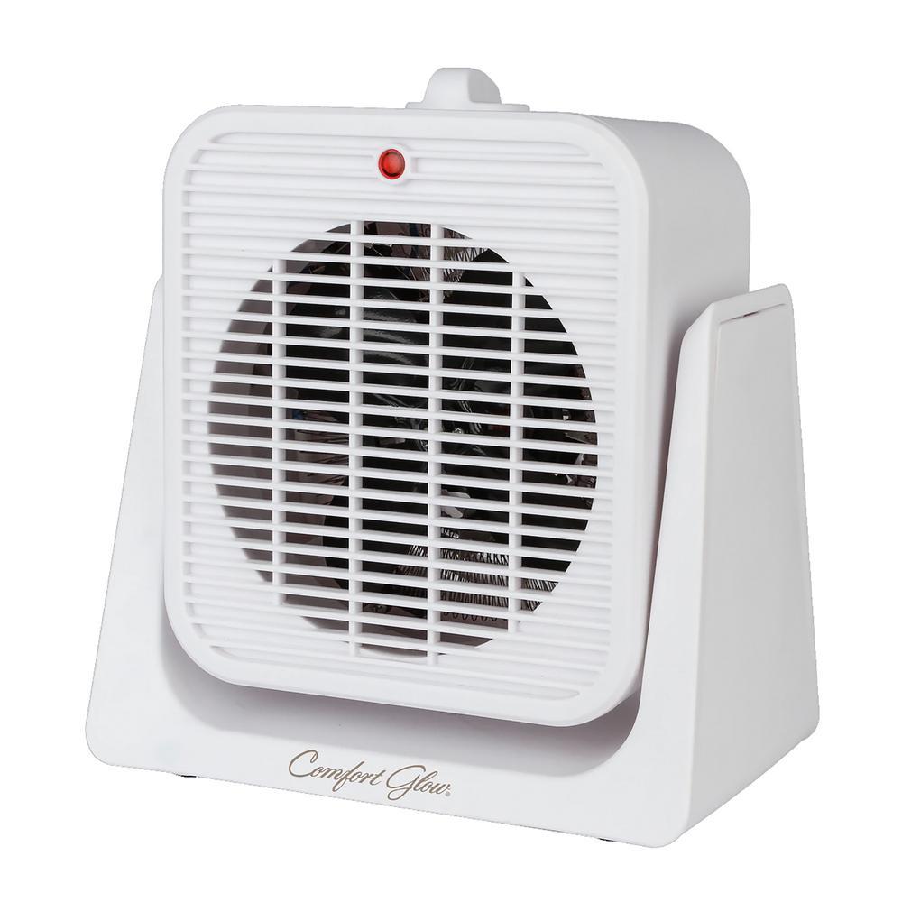 Portable 5,000 BTU Fan Heater Electric Furnace with Tilt Function