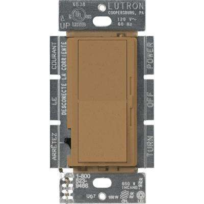 Diva C.L Dimmer Switch for Dimmable LED, Halogen and Incandescent Bulbs, Single-Pole or 3-Way, Terracotta