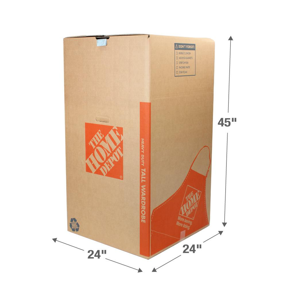 The Home Depot 24 In. L X 24 In. W X 44 In.