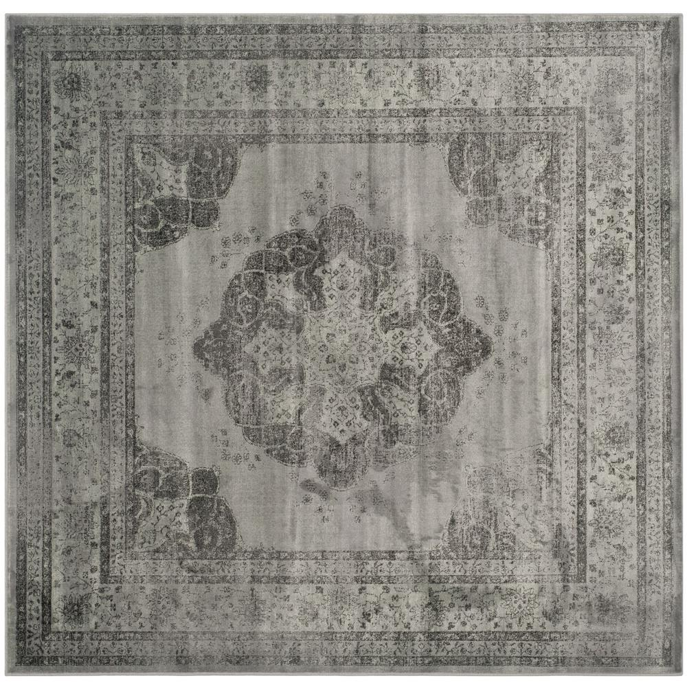 Safavieh Vintage Gray Multi 8 Ft X Square Area Rug