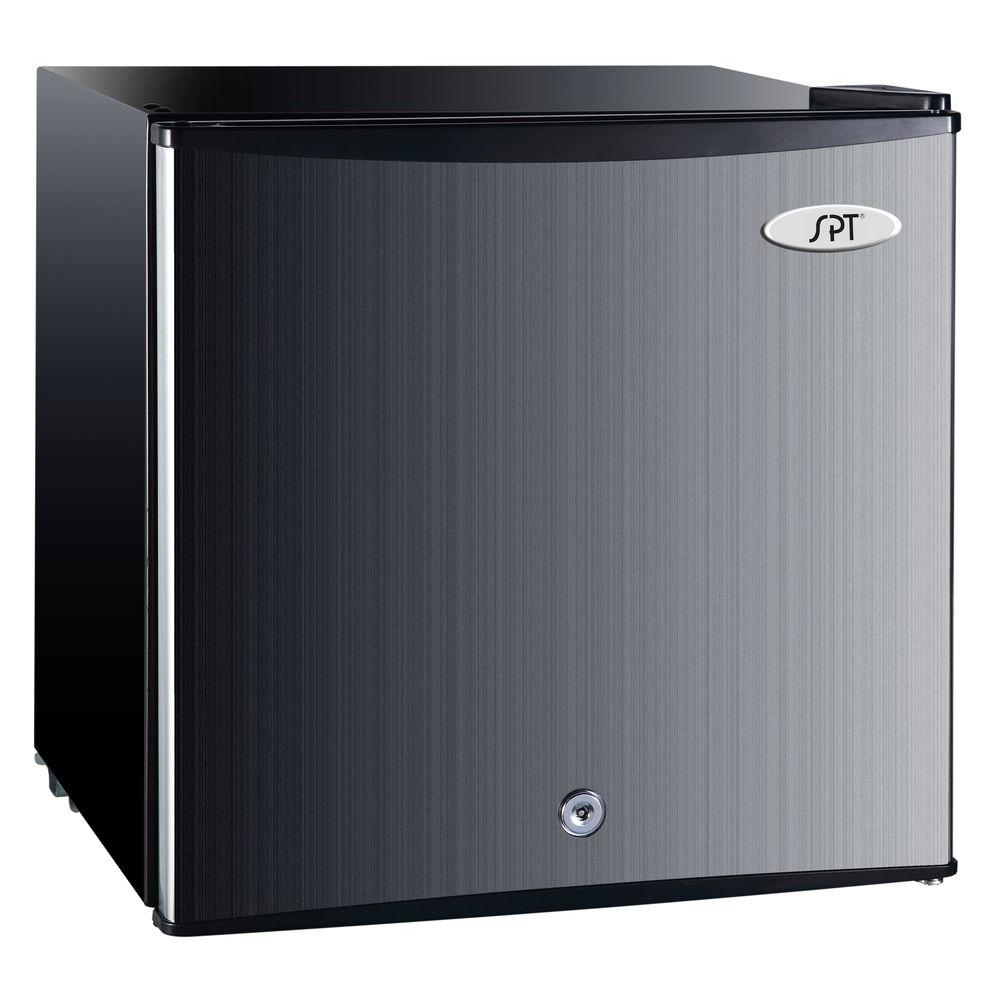 Great Upright Compact Freezer In Stainless Steel, Energy Star