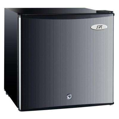 1.1 cu. ft. Upright Compact Freezer in Stainless Steel, Energy Star