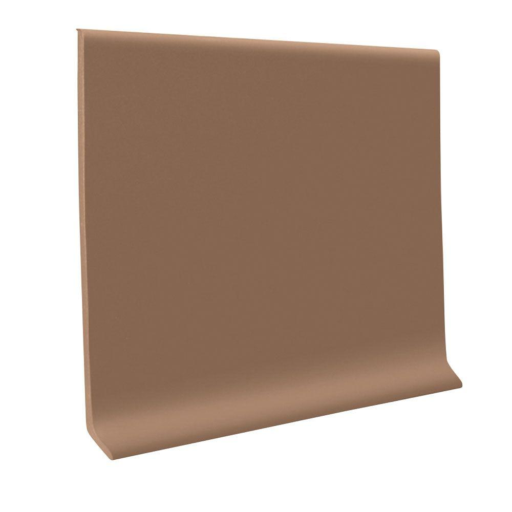 ROPPE 700 Series Chameleon 4 in. x 1/8 in. x 48 in. Thermoplastic Rubber Wall Cove Base (30-Pieces)