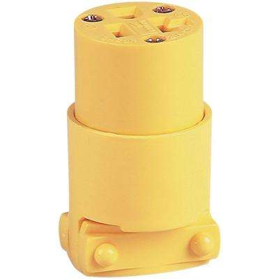 20 Amp 125-Volt 5-20 Commercial Grade Vinyl Connector
