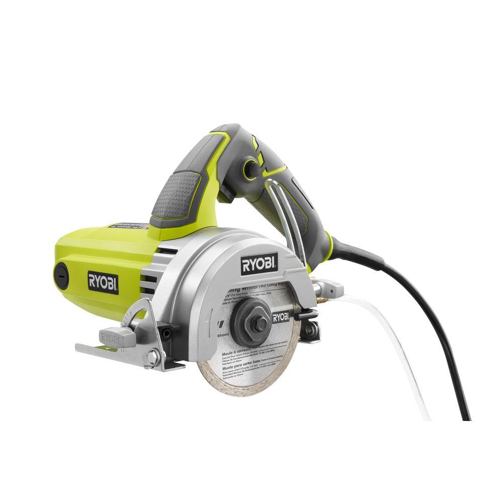 Ryobi 4 in tile saw tc401 the home depot tile saw greentooth Images