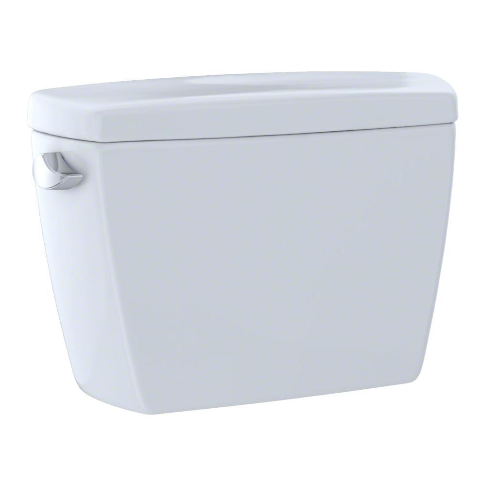 TOTO Eco Drake 1.28 GPF Single Flush Toilet Tank Only in Cotton White