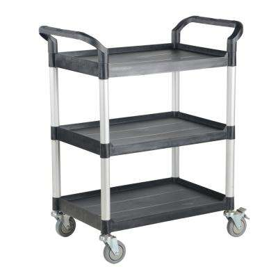 33 in. x 19 in. 3-Shelf Commercial Cart 33X19 3-Shelf no Panels