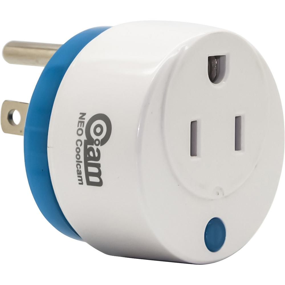 NEO Mini Round Wi-Fi Smart Plug Works with Alexa and Google Home for Voice Control Save Energy and Reduce Electric Bill