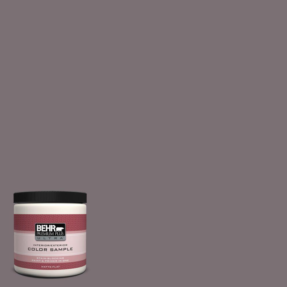 BEHR Premium Plus Ultra 8 oz. Home Decorators Collection Heather Sachet Interior/Exterior Paint Sample