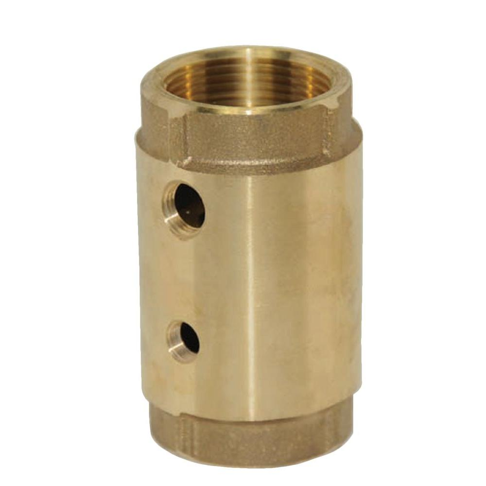 1 in. Two-Hole Control Center Check Valve