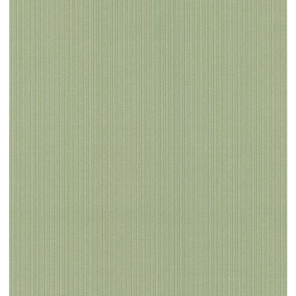 Green Pin Stripe Wallpaper Sample
