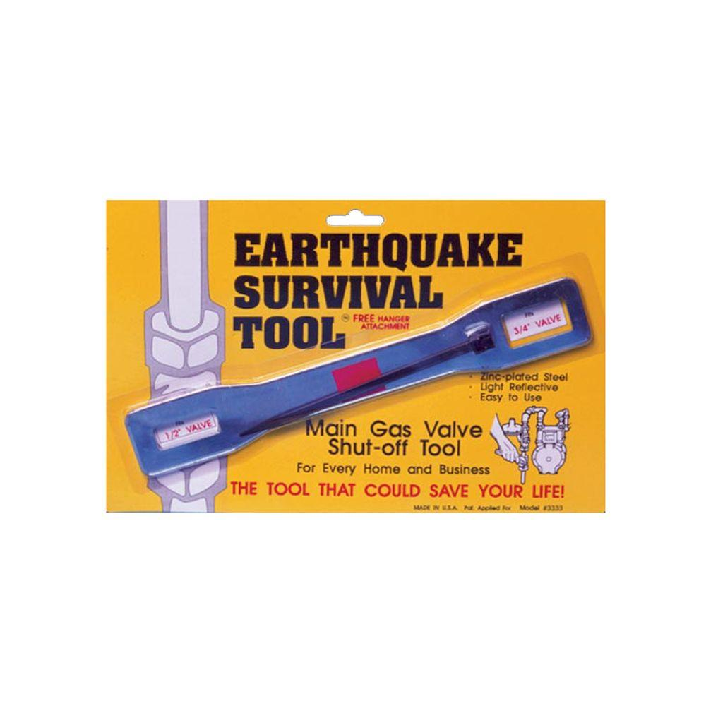 Ready America Emergency Gas Shut-Off Wrench