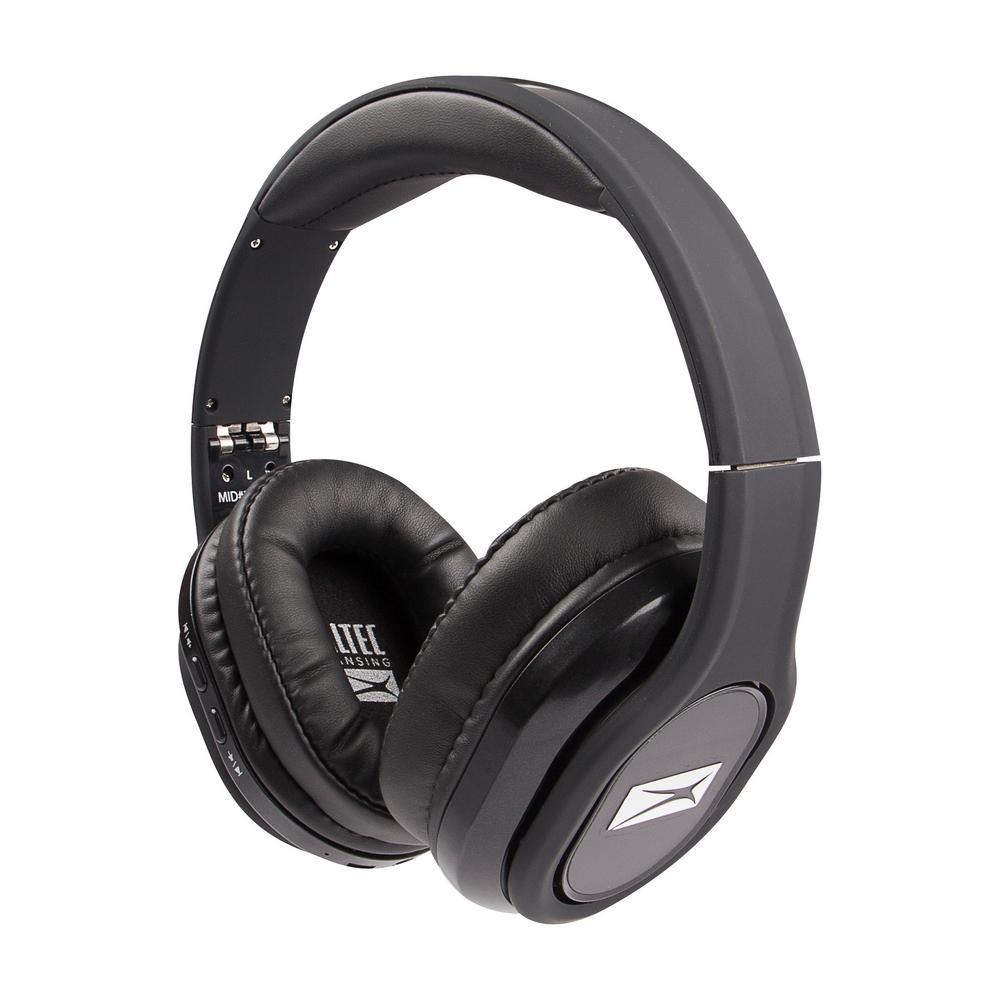 2363307b72e Altec Lansing Evolution 2 Bluetooth Headphones in Black-MZX668-BLK ...