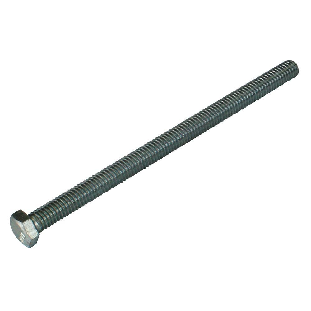 50 Pieces 1//4-20 x 5 Full Thread Hex Tap Bolt