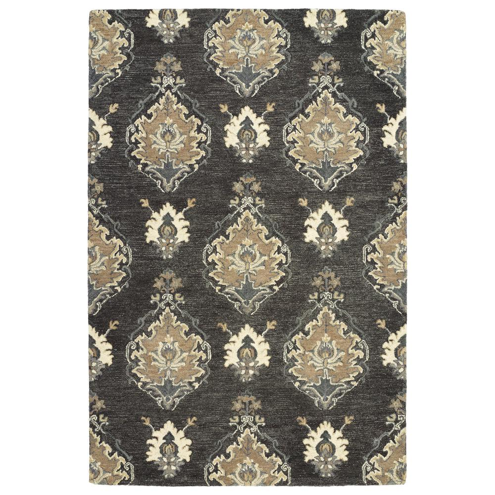 Brooklyn Charcoal 7 ft. 6 in. x 9 ft. Area Rug