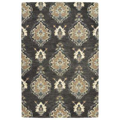 Brooklyn Charcoal 10 ft. x 13 ft. Area Rug