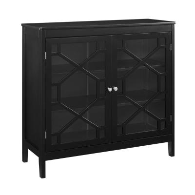 Tracy Black Large Cabinet