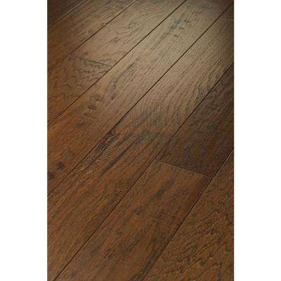 Western Hickory Weathered 3/8 in. T x 3-1/4 in. W x Random Length Engineered Hardwood Flooring (23.76 sq. ft. / case)