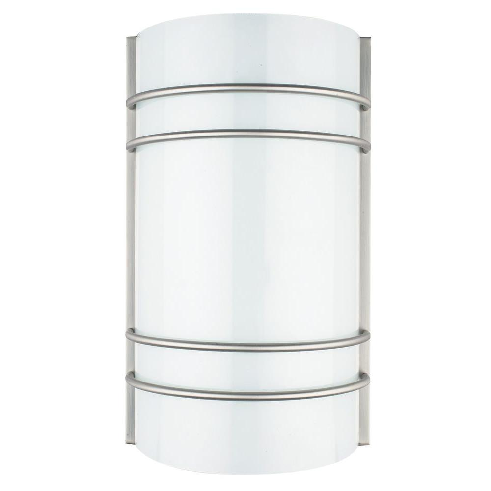 Luminance ADL Lumin Bright Satin Nickel Indoor LED Wall Sconce ...