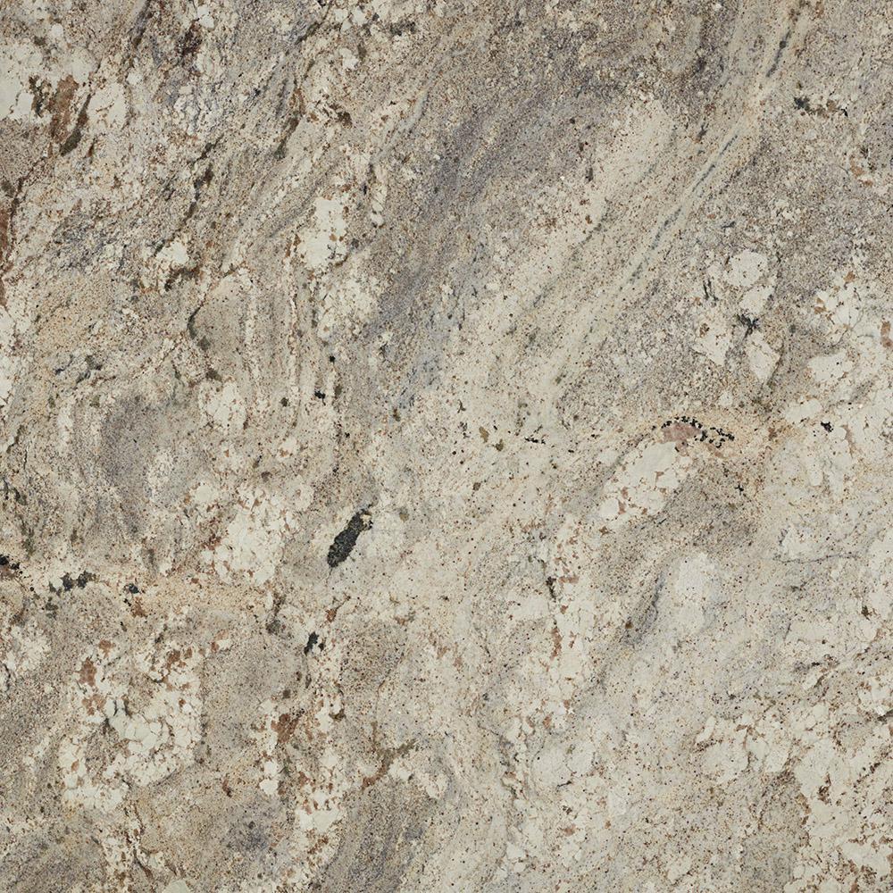 3 in. x 3 in. Granite Countertop Sample in White Paradise