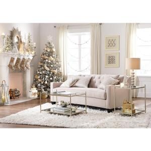 +2  sc 1 st  The Home Depot : riemann curved tufted sectional - Sectionals, Sofas & Couches