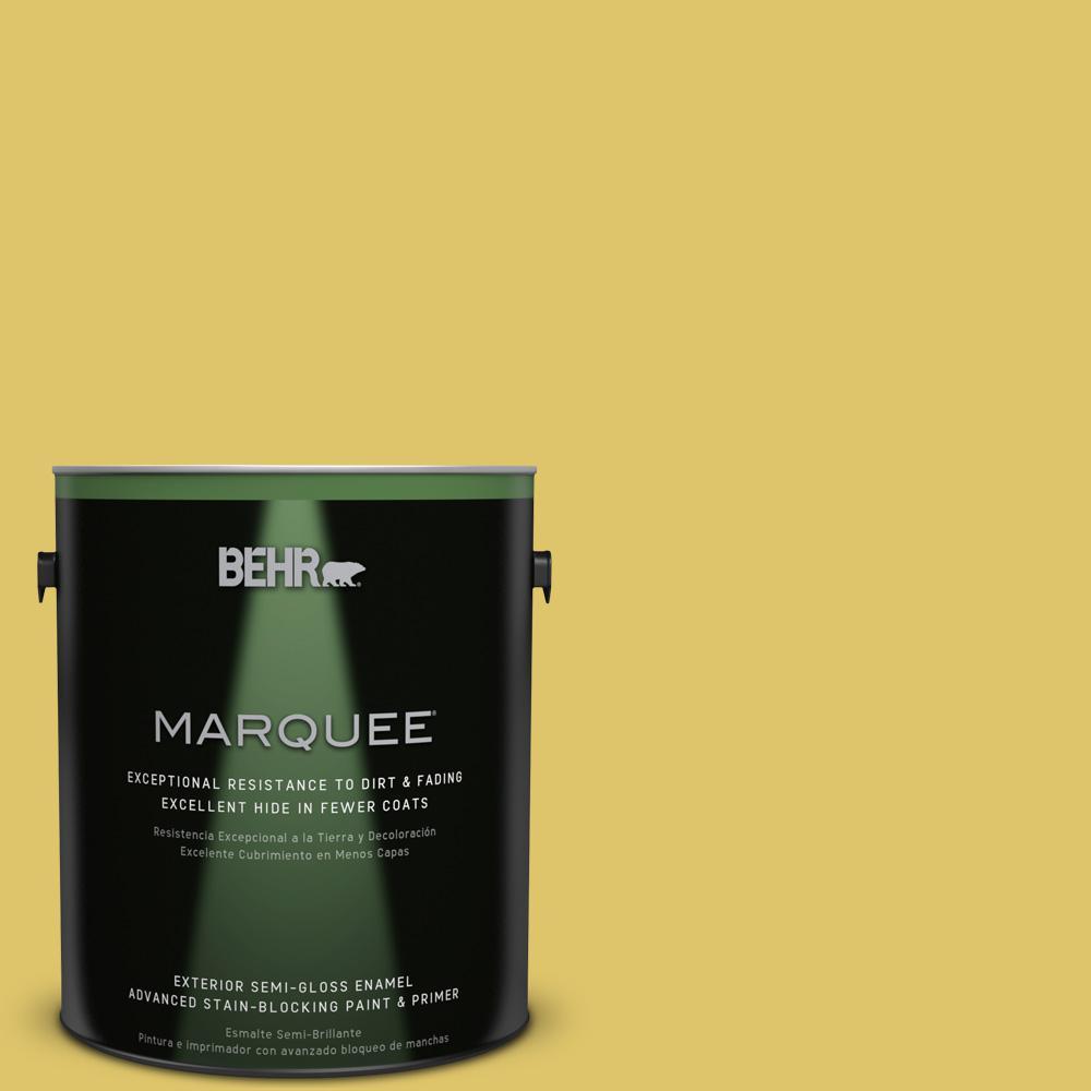 BEHR MARQUEE 1-gal. #380D-5 California Dreaming Semi-Gloss Enamel Exterior Paint