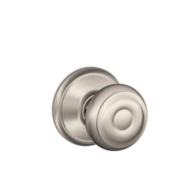 Georgian Satin Nickel Passage Hall/Closet Door Knob