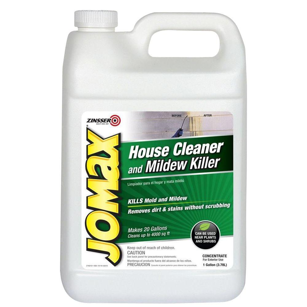 Zinsser 1 gal. Jomax House Cleaner and Mildew Killer (4-Pack)