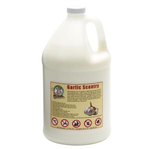 Click here to buy Just Scentsational 1 gal. Garlic Scentry Animal and Insect Repellent by Just Scentsational.