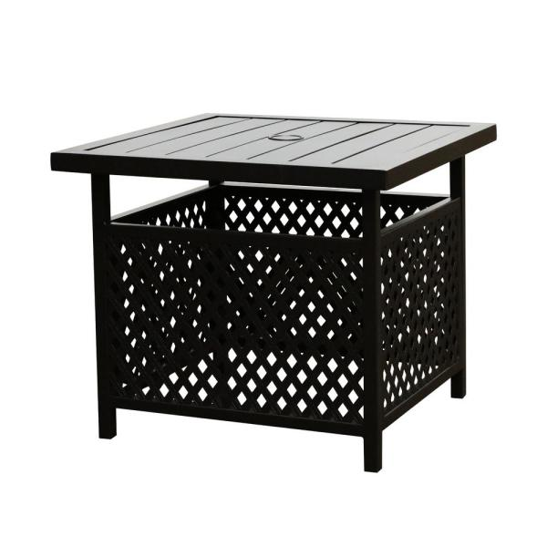 Square Metal Outdoor Coffee Table