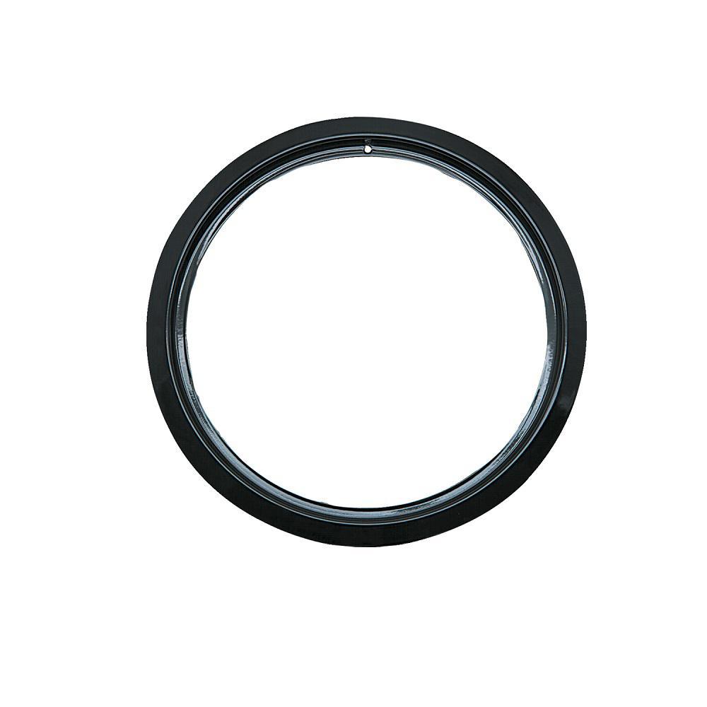 6 in. Trim Ring in Black Porcelain