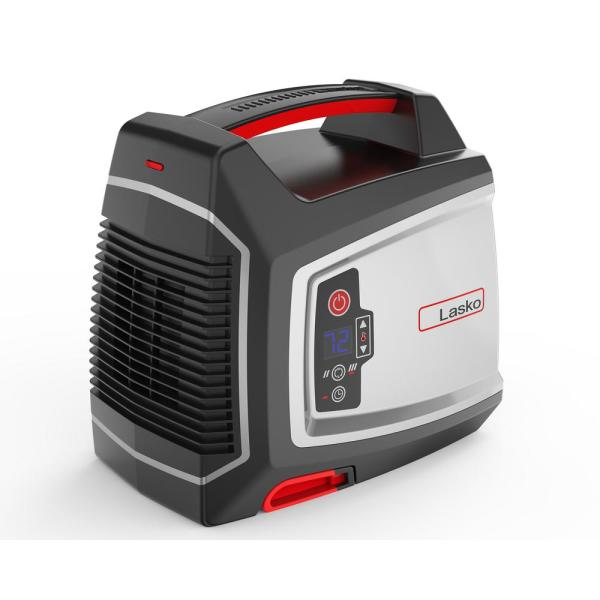 Elite Collection 1500-Watt Electric Ceramic Utility Space Heater with Timer