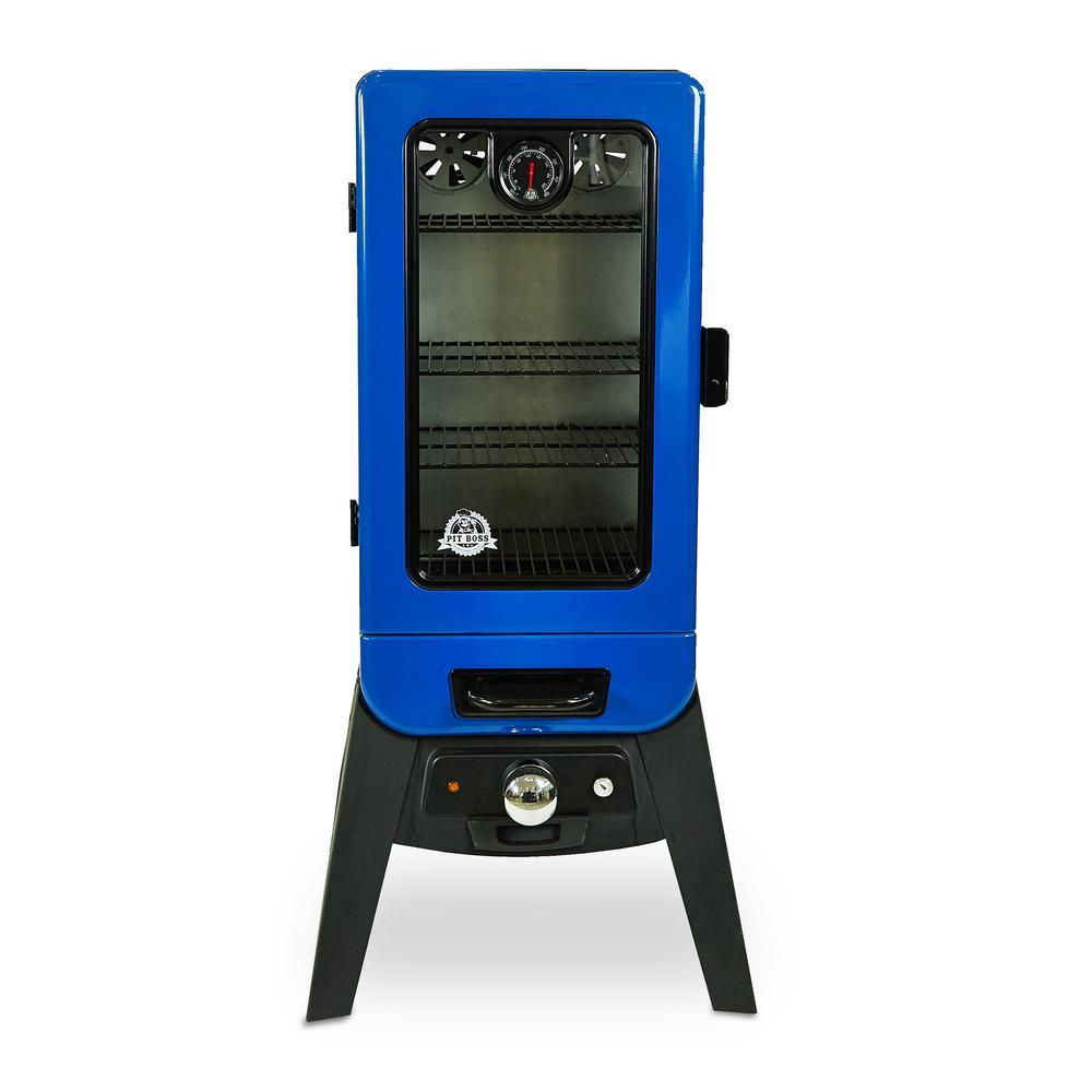 3.2 cu. ft. Electric Analog Wood Smoker with Window