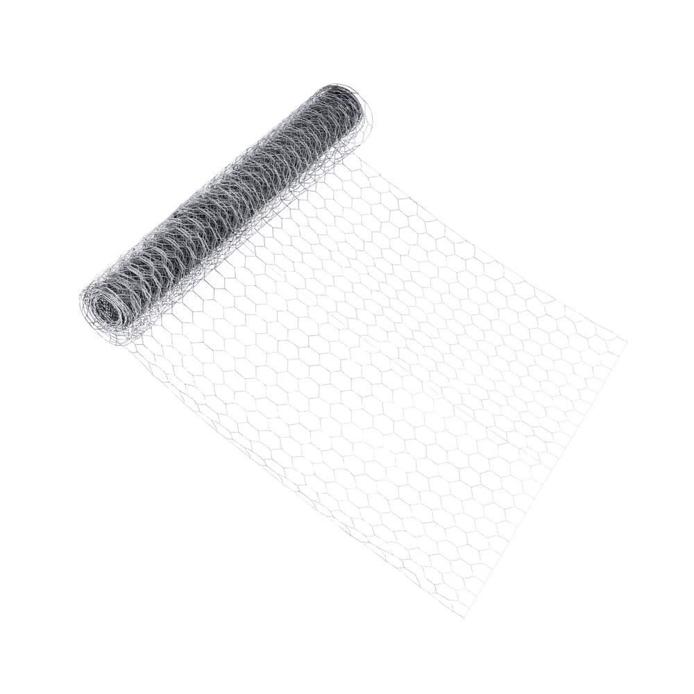 Fencer Wire 2 ft. x 10 ft. 20-Gauge Poultry Netting with 1 in. Mesh
