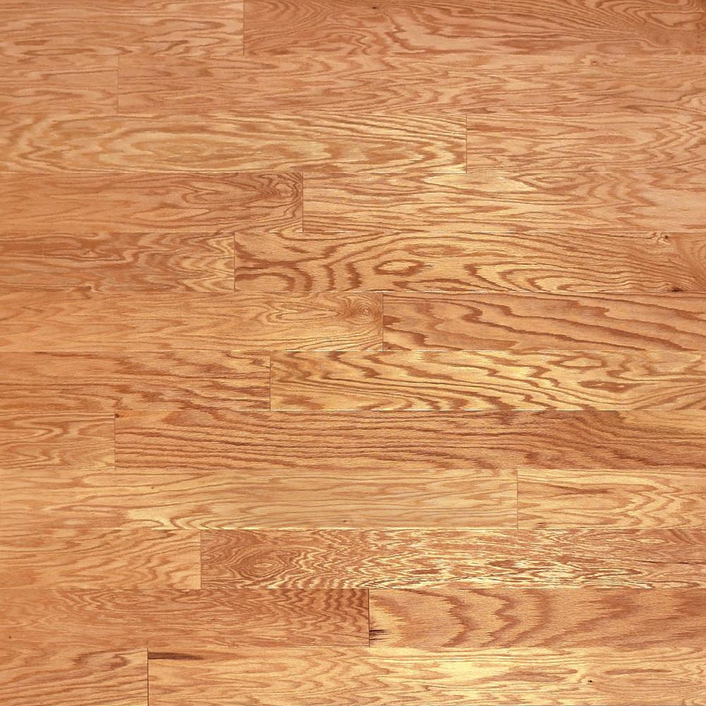 Heritage Mill Take Home Sample Red Oak Natural Engineered Click Hardwood Flooring 5 In. X 7 In.