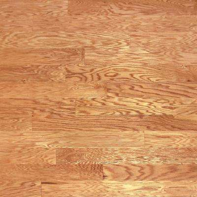 Take Home Sample - Red Oak Natural Engineered Click Hardwood Flooring - 5 in. x 7 in.