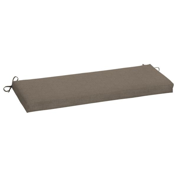 45 x 15 Sunbrella Cast Shale Outdoor Bench Cushion
