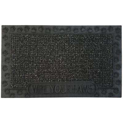 Wipe Your Paws Flint 18 in. x 30 in. Door Mat
