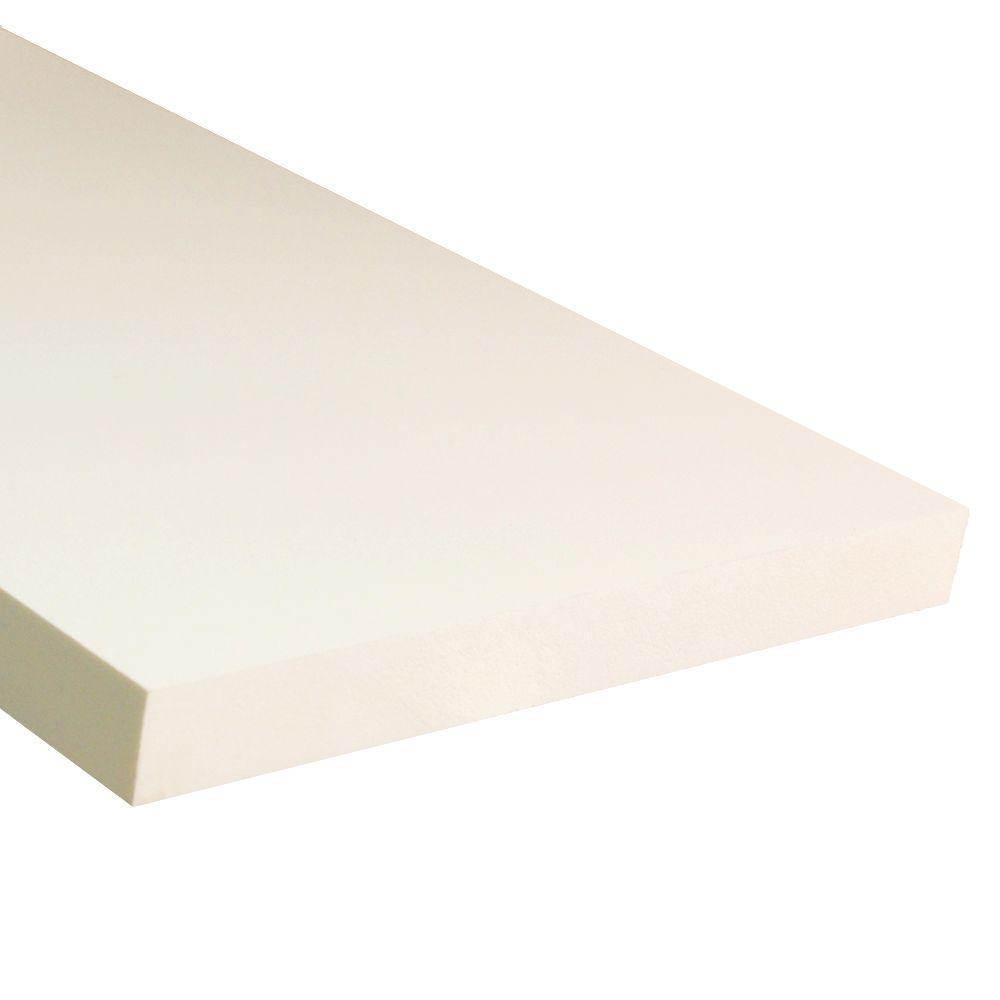 Veranda 3 4 In X 7 1 4 In X 8 Ft White Pvc Trim