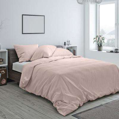 Heritage Cotton Duvet Rose Blush Queen