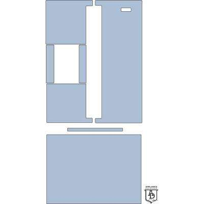 Surface Scratch Defender Designed for Whirlpool WRF560SEHZ 20 cu. ft. French-Door Refrigerator