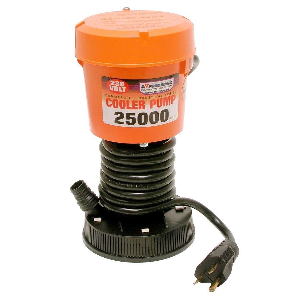 PowerCool DIAL UL25000-2LA 230-Volt Industrial Evaporative Cooler Pump