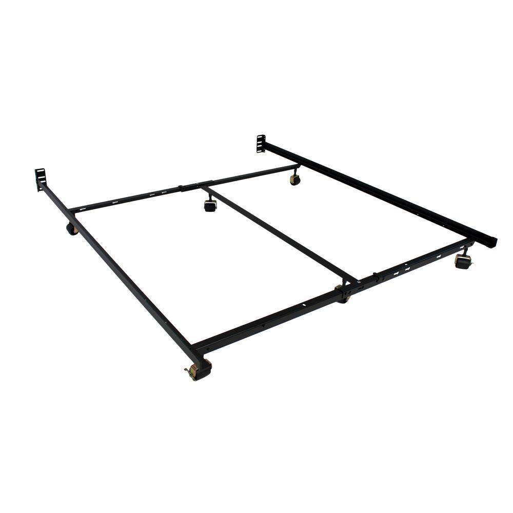 hollywood bed frame low profile premium lev r lock queen. Black Bedroom Furniture Sets. Home Design Ideas