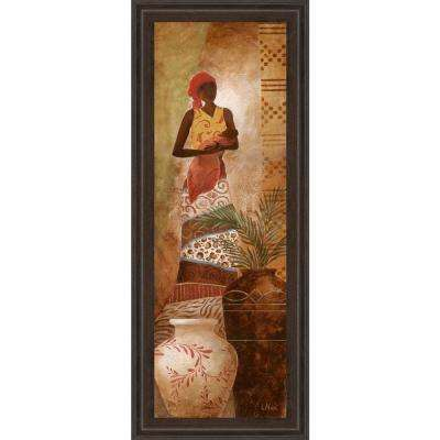 18 in. x 42 in. Promotional Line Framed Printed Wall Art