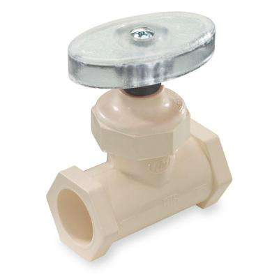 1/2 in. CPVC CTS Compression Supply Stop Valve