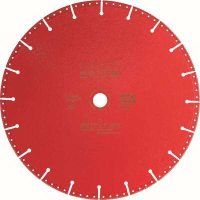 12 in. x 1 in. SPX Diamond Metal Cutting Blade