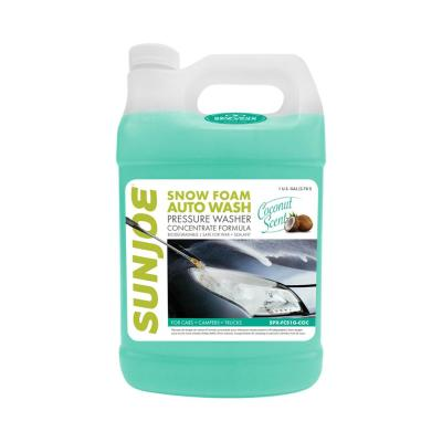 1 Gal. Premium Snow Foam Pressure Washer Rated Car Wash Soap and Cleaner, Coconut