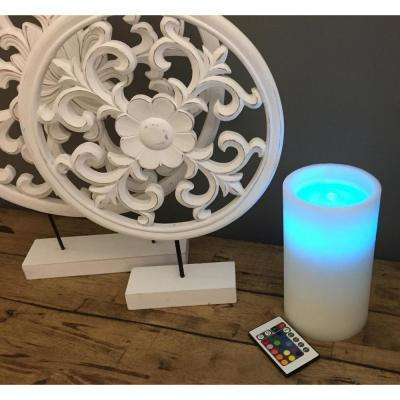 Color Changing Fountain Candle